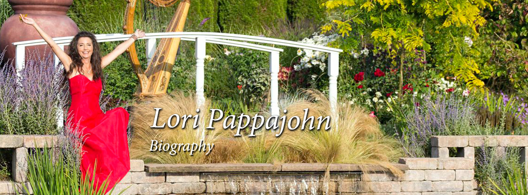 Lori Pappajohn Biography of a Professional Harpist