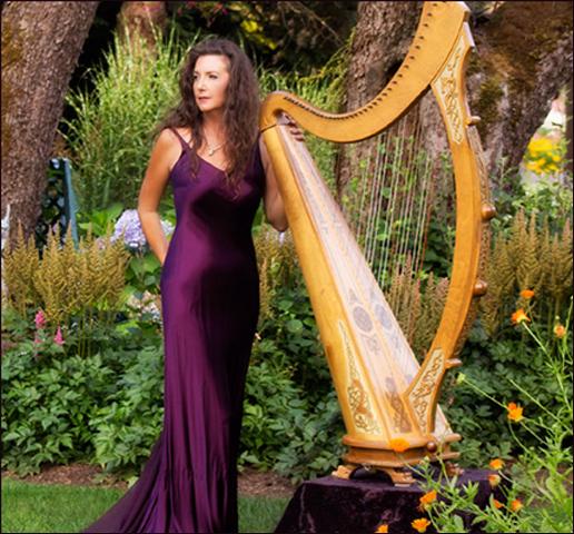 Vancouver Wedding Harpist Lori Pappajohn